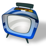 television - freeware nc by www.iconshock.com